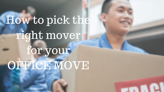 How to Pick the Right Mover for Your Office Move