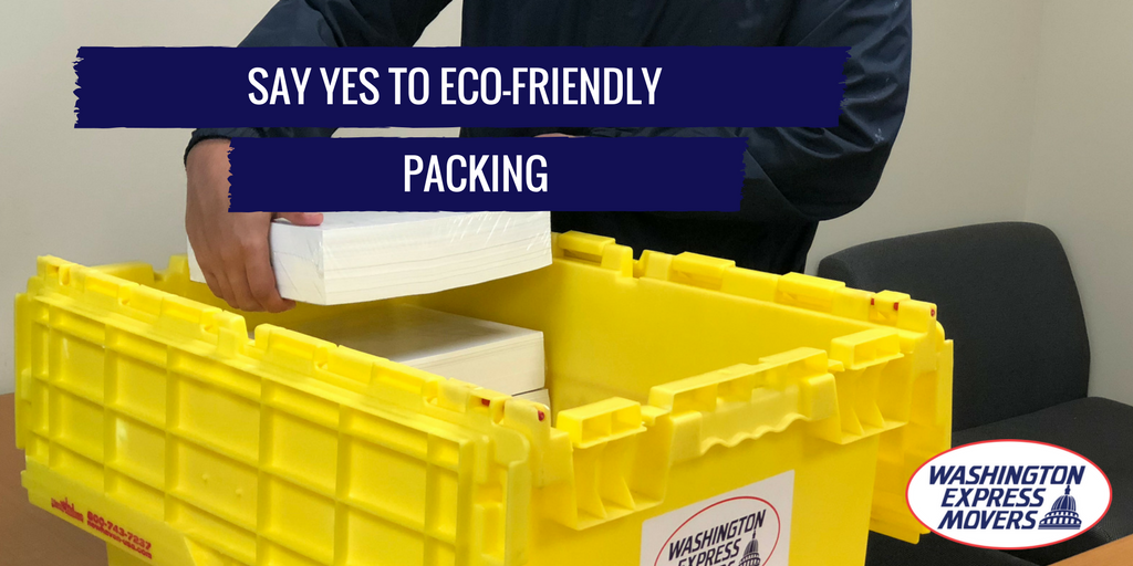 Say Yes to Eco-Friendly Packing