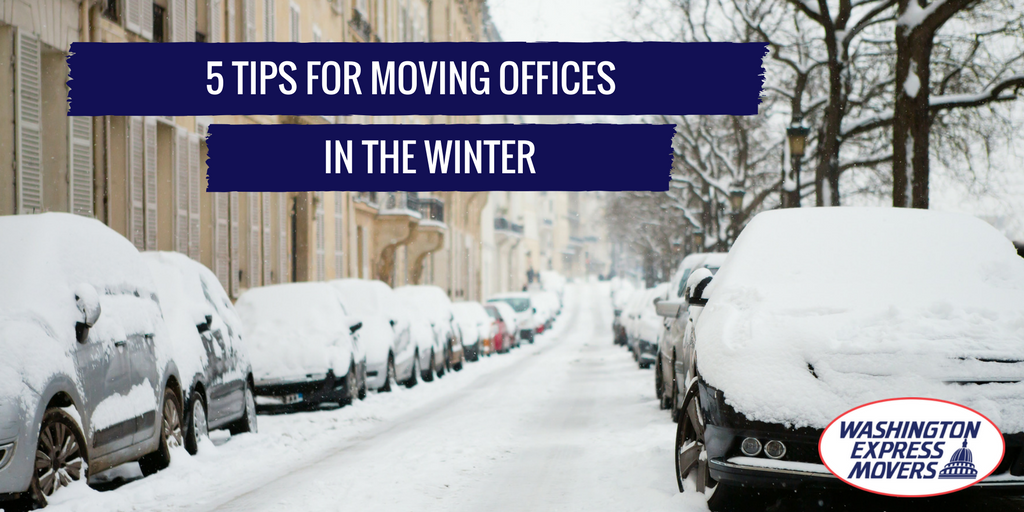 5 Tips for Moving Offices in the Winter