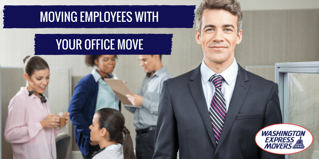 Moving Employees with Your Office Move