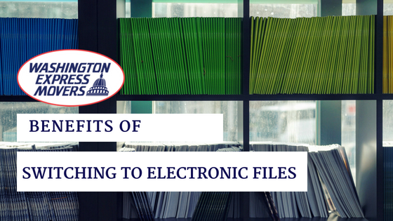 Benefits of Switching to Electronic Files