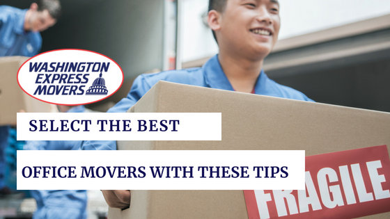 Select the Best Office Mover with these Tips